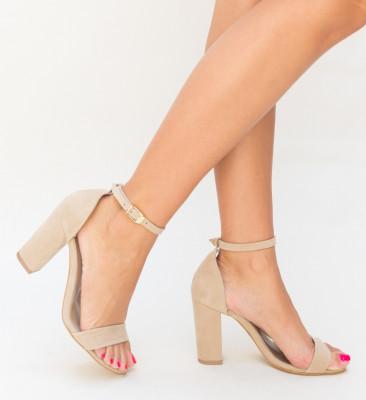 Sandale Klefec Bej