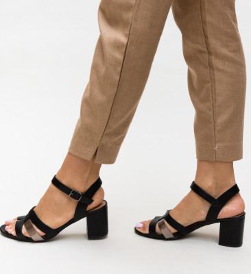 Sandale Leonida Negre