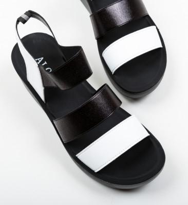 Sandale Milei Albe