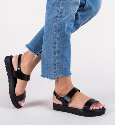 Sandale Oliso Negre 3