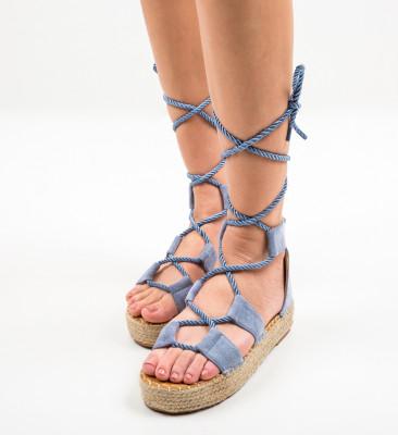 Sandale Quiero Albastre