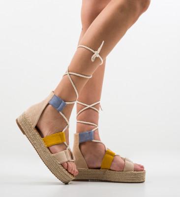 Sandale Quiero Bej