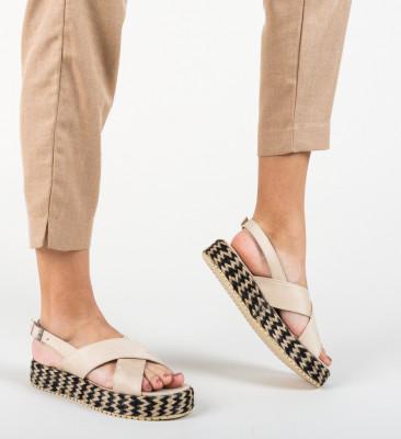 Sandale Rindero Bej