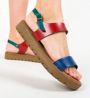 Sandale Siyaha Multi