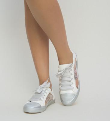 Pantofi Sport Alfa Argintii