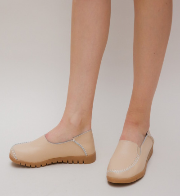 Pantofi Casual Paroli Bej