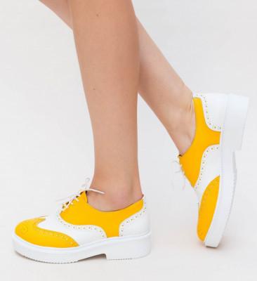 Pantofi Casual Wana Galbeni