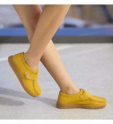 Pantofi Casual Monta Galbeni