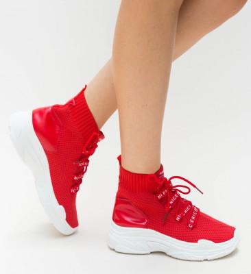 Pantofi Sport Faby Rosii