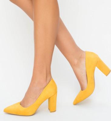 Pantofi Genta Galbeni