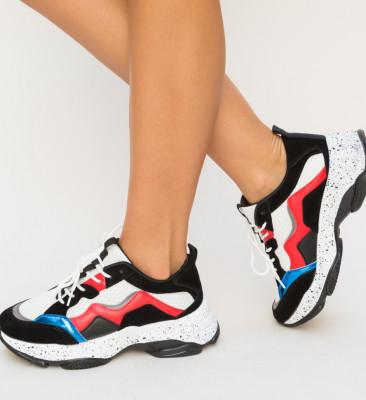 Pantofi Sport Dual Albi