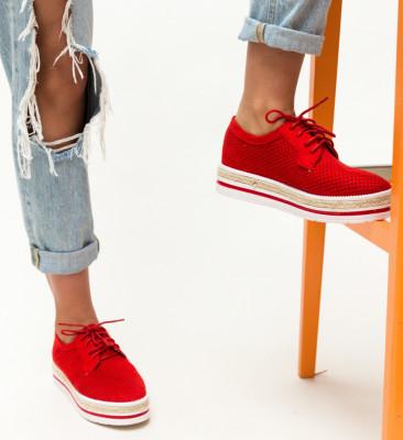Pantofi Casual Ker Rosii