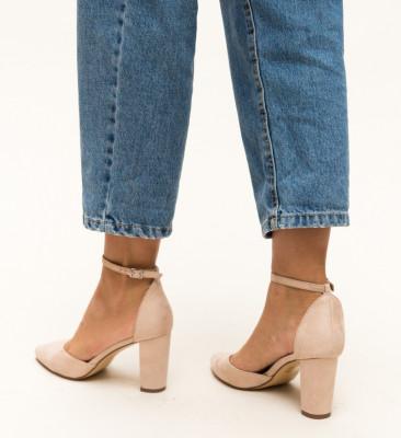 Pantofi Genesis Bej