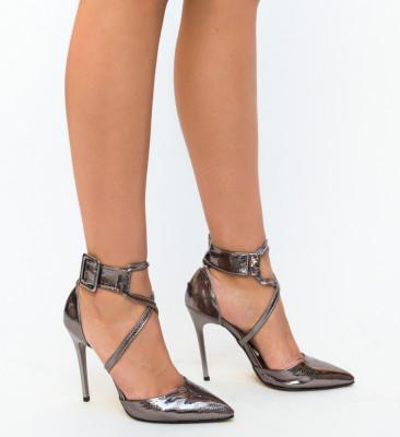 Pantofi Bruno Gri
