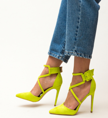 Pantofi Hebe Verzi