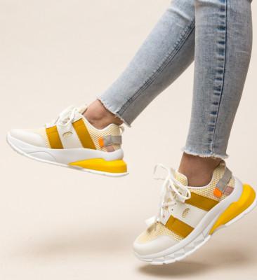 Pantofi Sport Zena Galbeni