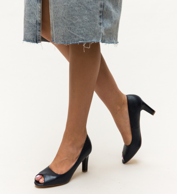 Pantofi Kofi Bleumarin