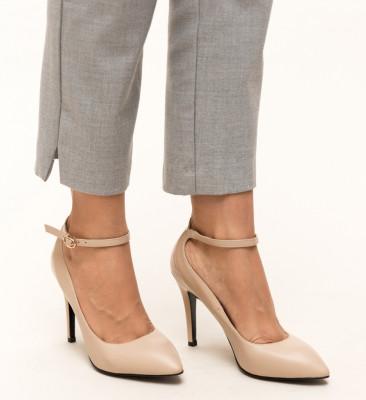 Pantofi Stark Bej