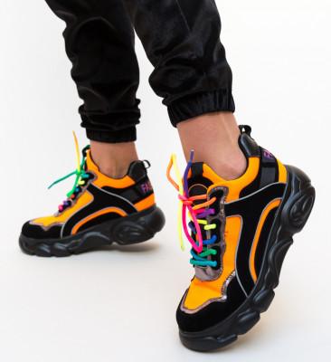 Pantofi Sport Hermo Negri
