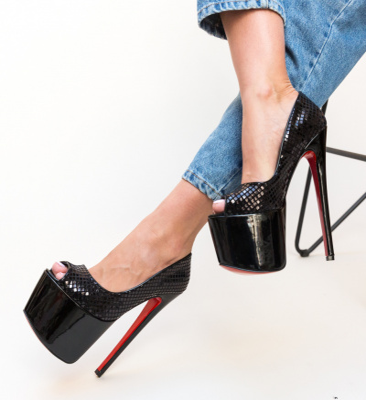 Pantofi Drogon Negri