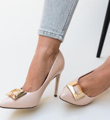 Pantofi Combs Nude