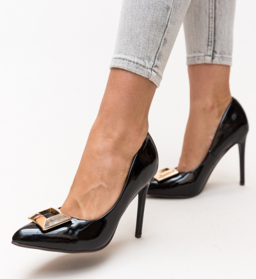 Pantofi Combs Negri