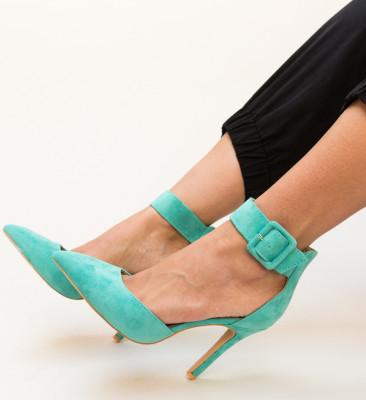 Pantofi Ravlin Verzi