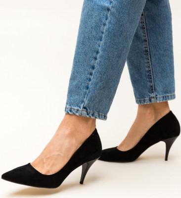 Pantofi Crunch Negri