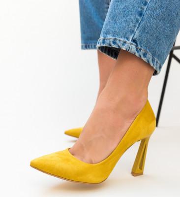 Pantofi Dipper Galbeni