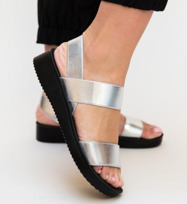 Sandale Nava Argintii 2