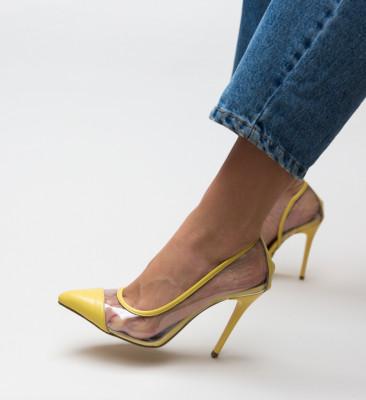 Pantofi Brennan Galbeni
