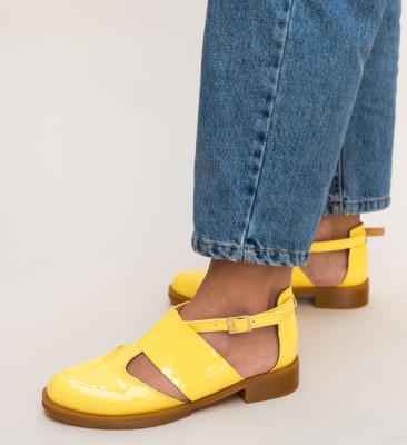 Pantofi Casual Jamie Galbene