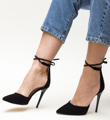 Pantofi Marguta Negre