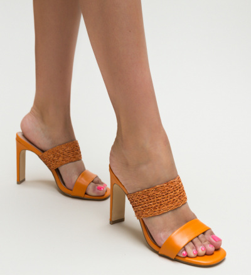Sandale Dalton Portocalii