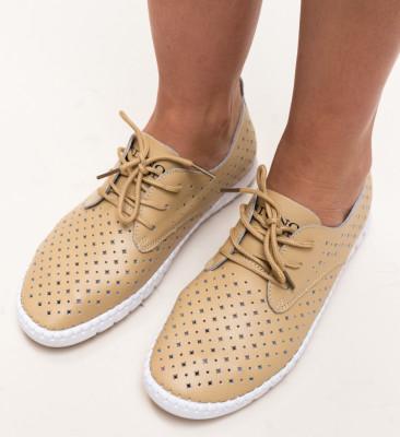 Pantofi Casual Hilio Bej