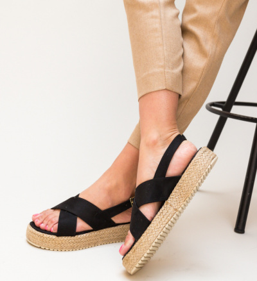 Sandale Rinderor Negre