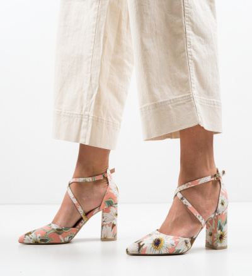 Pantofi Amri Nude