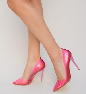 Pantofi Banko Roz