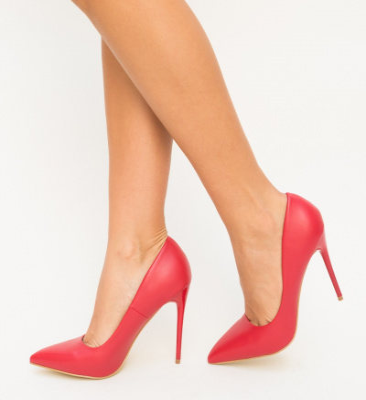 Pantofi Beba Rosii