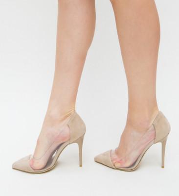 Pantofi Bost Bej