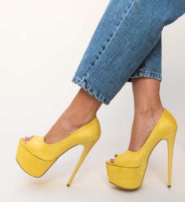 Pantofi Brady Galbeni