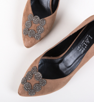 Pantofi Broida Khaki