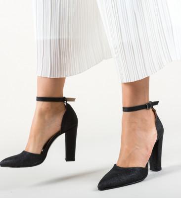 Pantofi Calio Negri 2