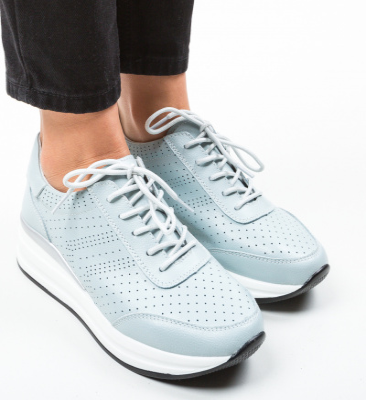 Pantofi Casual Aariz Albastri