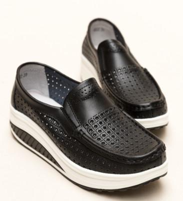 Pantofi Casual Bicaz Negri