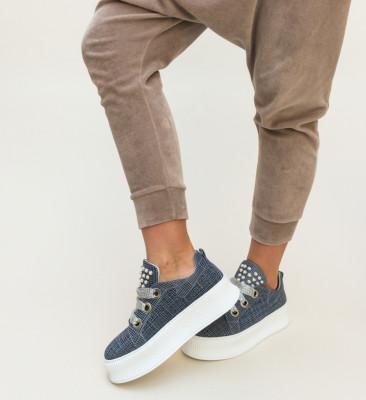 Pantofi Casual Blinders Albastri