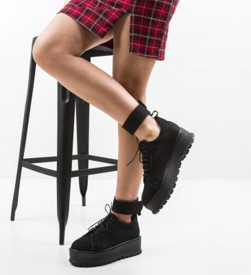 Pantofi Casual Brosky Negri 2