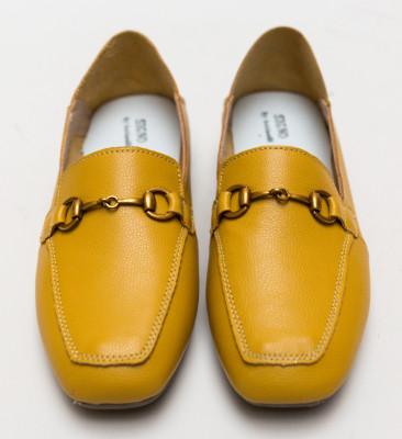 Pantofi Casual Caracom Galbeni