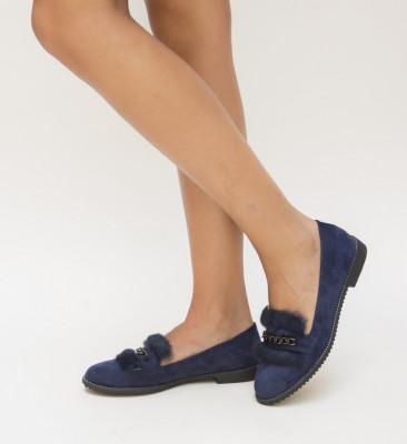 Pantofi Casual Cebar Albastri
