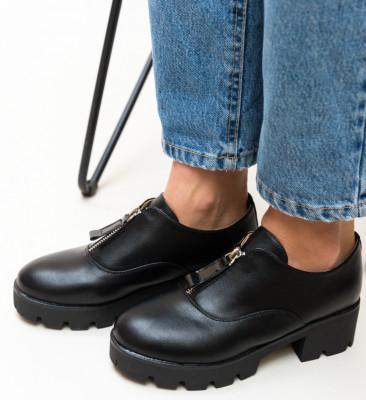 Pantofi Casual Corola Negri